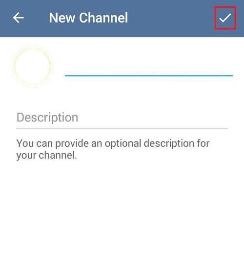 آموزش تصویری ساخت کانال تلگرام