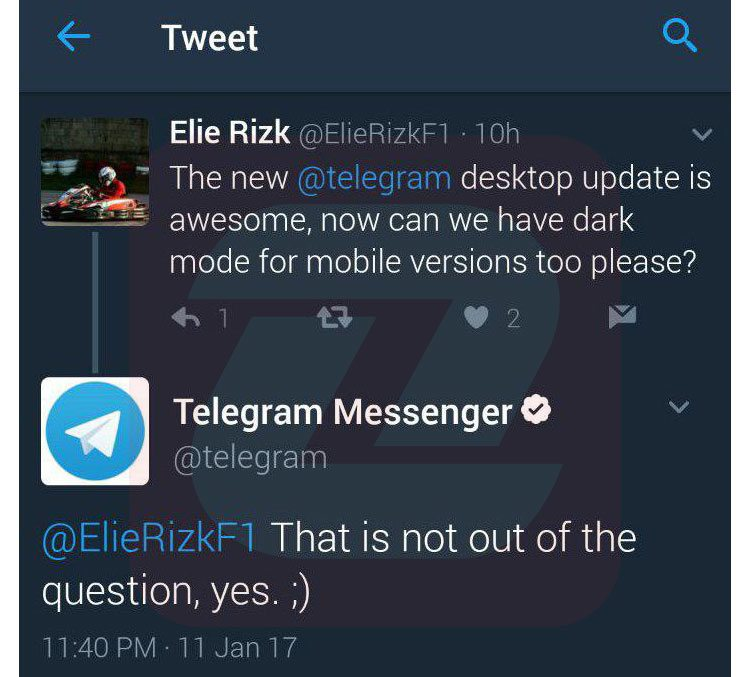 تغییر پوسته تلگرام به زودی