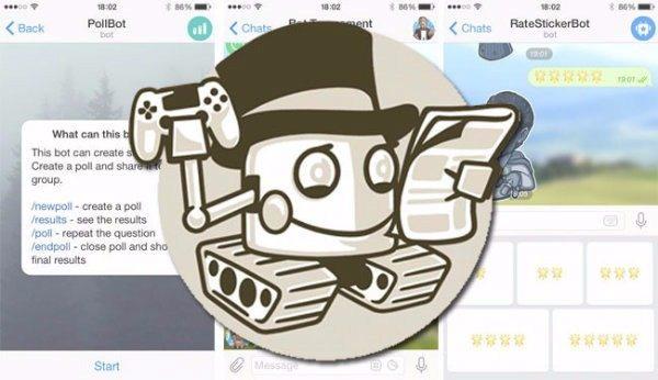 رباتی چند منظوره برای پیام رسان تلگرام