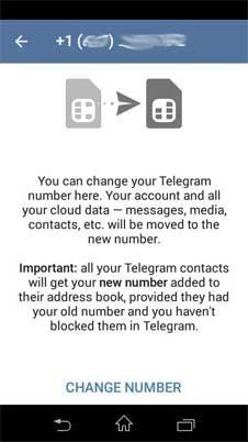 بعد از مدتی کار با تلگرام مایل نباشید با تلفنی که ابتدا ثبت نام کردهاید در آن فعالیت کنید یا مثلا قصد واگذاری یا فروش خط تلفنتان را دارید یا سیم کارت جدید دیگری خریداری کردهاید و مایلید با آن شماره در تلگرام فعالیت کنید