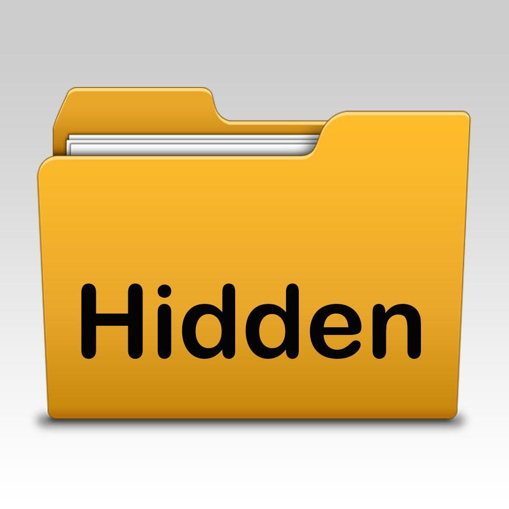 آموزش ساخت فولدر مخفی در ویندوز
