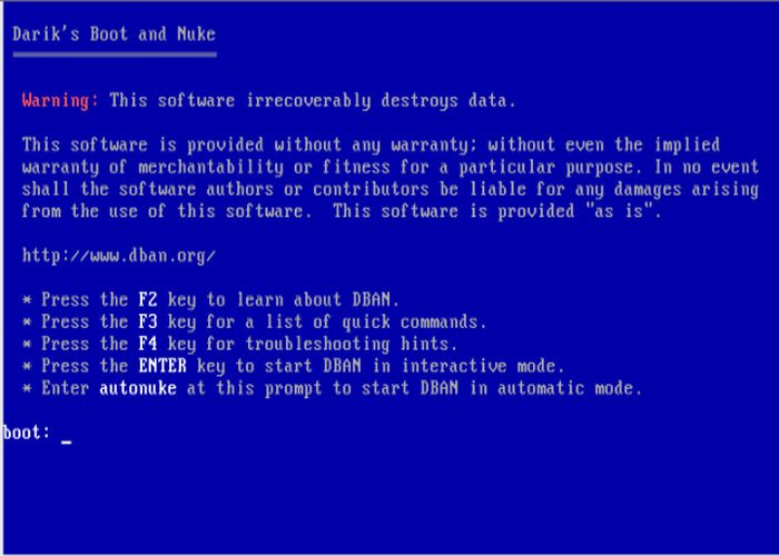 چگونگی پاک کردن دائمی اطلاعات هارد دیسک