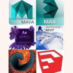 کانال تلگرام پکهای آموزشی 3dmax مایا افتر افکت